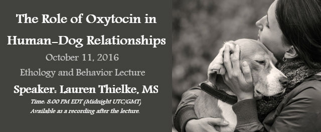 Role of Oxytocin in Human Dog Relationships